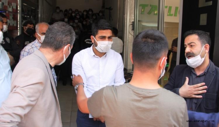 Adana'da HDP'liler ile polis arasında santim pazarlığı