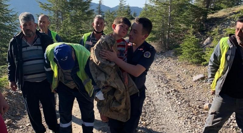 Adana'da ormanlık alanda kaybolan iki çocuk bulundu