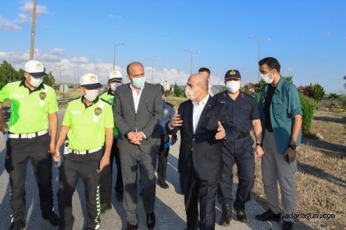 Adana'ya yeni yol kontrol noktası kuruluyor