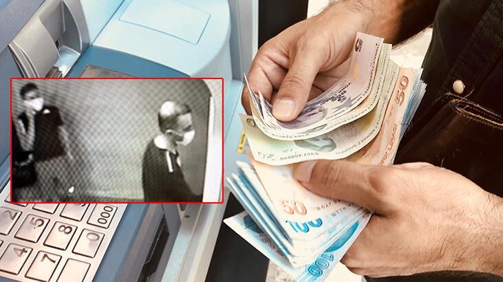 ATM'deki açığı fark edip, 625 bin 440 TL'lik vurgun yaptılar