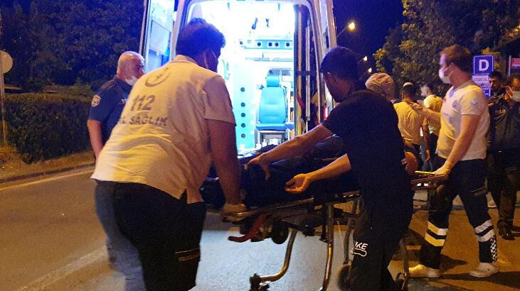 Barda çıkan silahlı kavga sokağa döküldü! Yaralılar var
