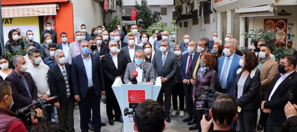 CHP ADANA'DAN TEHDİDE SERT TEPKİ