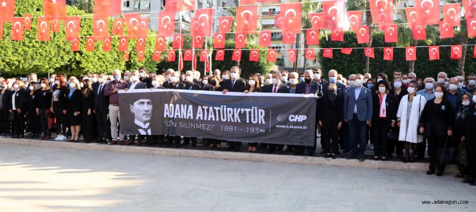 CHP'liler 10 Kasım töreninde bir araya geldi