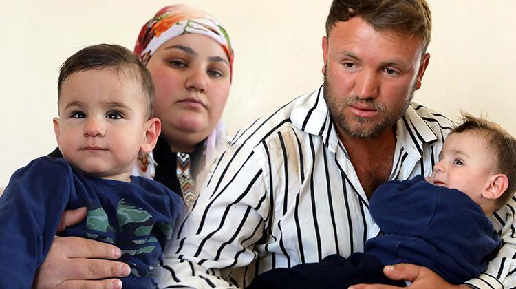 Görme engelli oğlunun tedavisi için biriktirdikleri parayı, dolandırıcılara kaptırdı