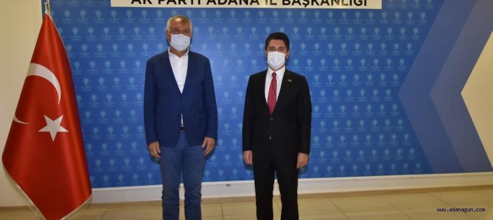 Karalar'dan, Mehmet Ay'a ziyaret
