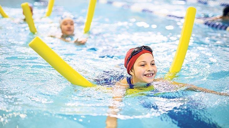 Su sporları çocukları obeziteden koruyor