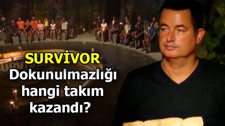 Survivor dokunulmazlığı kim, hangi takım kazandı? Survivor'da kim kazandı?