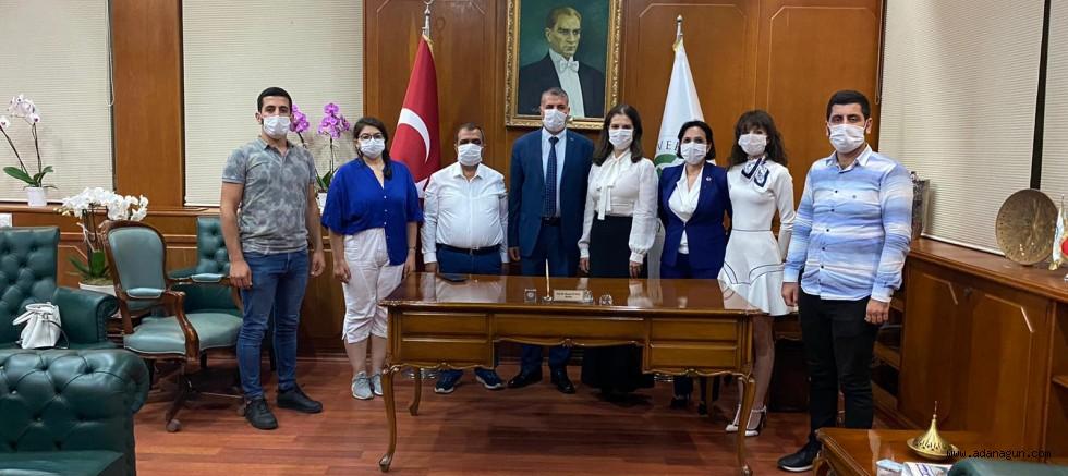 Talay ve yönetimi, Prof Dr. Tuncel'e hayırlı olsun ziyaretinde bulundu